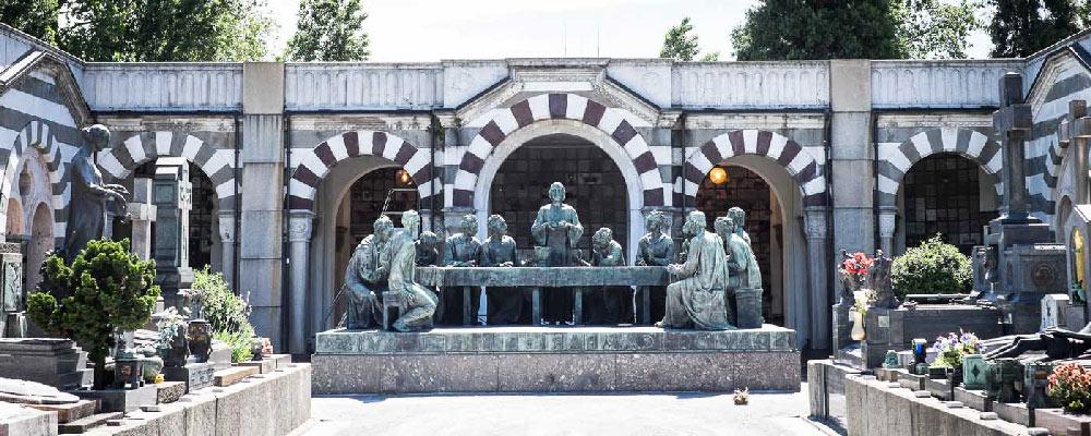 Una visita al Cementerio Monumental de Milan
