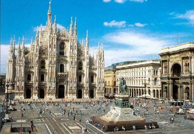 El Duomo de Milan, Italia