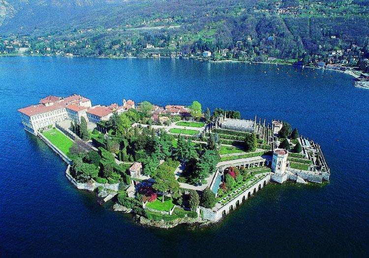 Islas en el Lago Maggiore