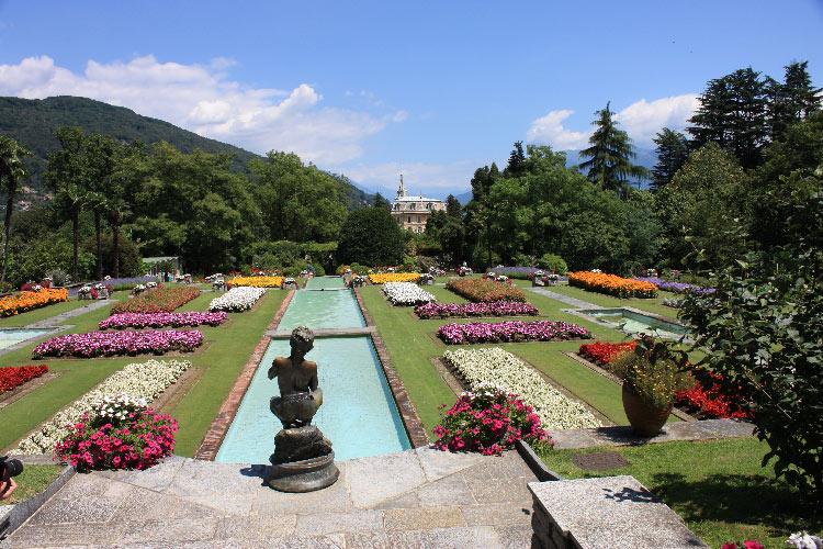 Jardines Botánicos en el Lago Maggiore
