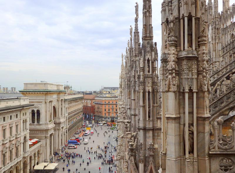 Itinerario para visitar Milan