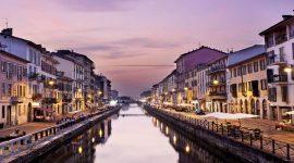 Los canales de Milán Navigli