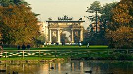 Parque Sempione en Milan