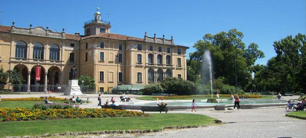 Jardines de Porta Venezia