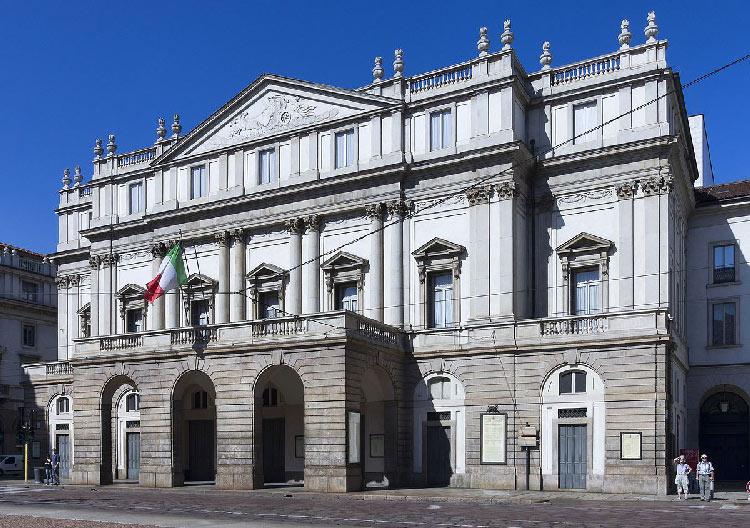 Visitar El Teatro de la Scala